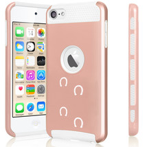For Apple iPod Touch 5th 6th Shockproof Hard Case Horse Shoe Tracks - $14.99