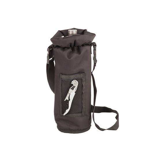 Primary image for Bottle Carrier, Black Champagne Insulated Waterproof Wine Carrier Bottle
