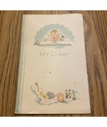 Antique 1936 My Diary Baby Book Un-used Roberts Dairy Co. VTG Shower Gif... - $18.70
