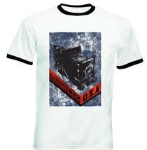 Speed Graflix - New Black Ringer Cotton Tshirt - $26.93
