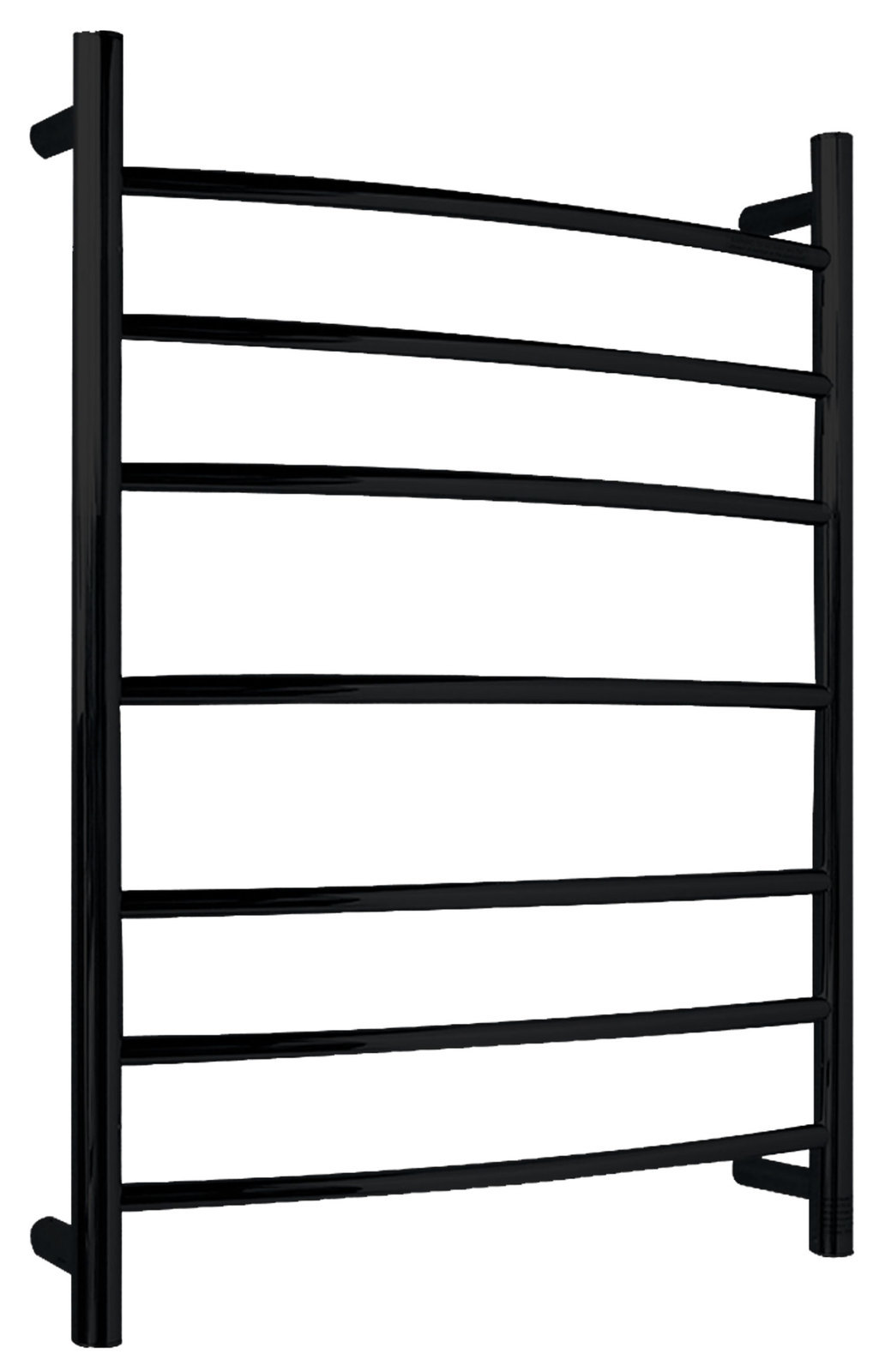 Primary image for Gown 7-Bar Stainless Steel Wall Mounted Towel Warmer in Matte Black
