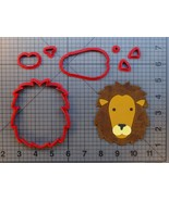 Lion Face 266-A193 Cookie Cutter Set - $6.50+