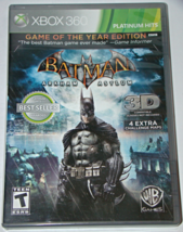 XBOX 360 - BATMAN ARKHAM ASYLUM (Complete with Manual) - $8.00