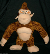"13"" NINTENDO 2004 BROWN DIDDY KONG MONKEY STUFFED ANIMAL PLUSH TOY MARIO... - $23.38"