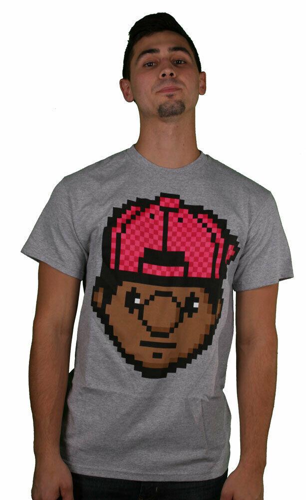 Trukfit Digi Tommy Grau Heather T-Shirt Lil Wayne Größe 2XL