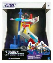 "2021 Jazwares Zoteki Transformers Starscream Diorama 6"" Action Figure NEW SEALED"