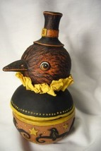 Bethany Lowe Harvest Crow Candy Bowl, no. JP7946 image 2