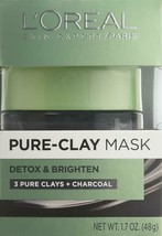 L'Oreal Skin Expert Detox & Brighten Pure Clay Mask, 1.7 Oz by L'Oreal P... - $9.04
