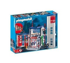 Playmobil #4819 Fire Station New Sealed - $215.05