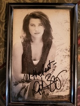 "Daphne Zuniga signed and framed autograph picture - 31/2"" x 51/2"" - $9.99"