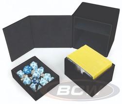 1x BCW GAMING COMMANDER DECK LOCKER - LX - BLACK - $18.00