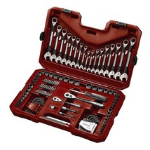 Craftsman Tool Set 115 Piece Mechanics Universal SAE Inch Metric Socket ... - $168.14