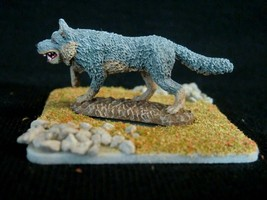 D&D Miniature - Savage Wolf - Stunningly Painted by Ken Longacre !! - $24.00