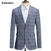 "2019 spring Autumn new style suits men""s fashion casual Slim Fit blazers... - $78.10"