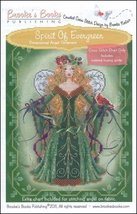 Spirit of Evergreen Angel Ornament Chart only cross stitch Brooke's Books  - $7.20