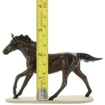 Hagen Renaker Miniature Horse Thoroughbred Seabiscuit Ceramic Figurine Boxed image 2