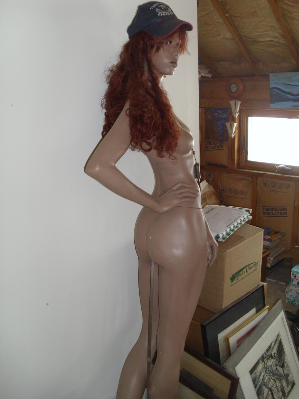Tyra Banks Mannequin