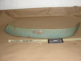 67 Cadillac Sedan De Ville Right Passenger Side Front Bench Seat Track Trim Cover - $59.99