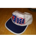 VTG USA Flag Hanes Painters Hat Cap Promo From 1996 Olympics Advertising... - $14.84