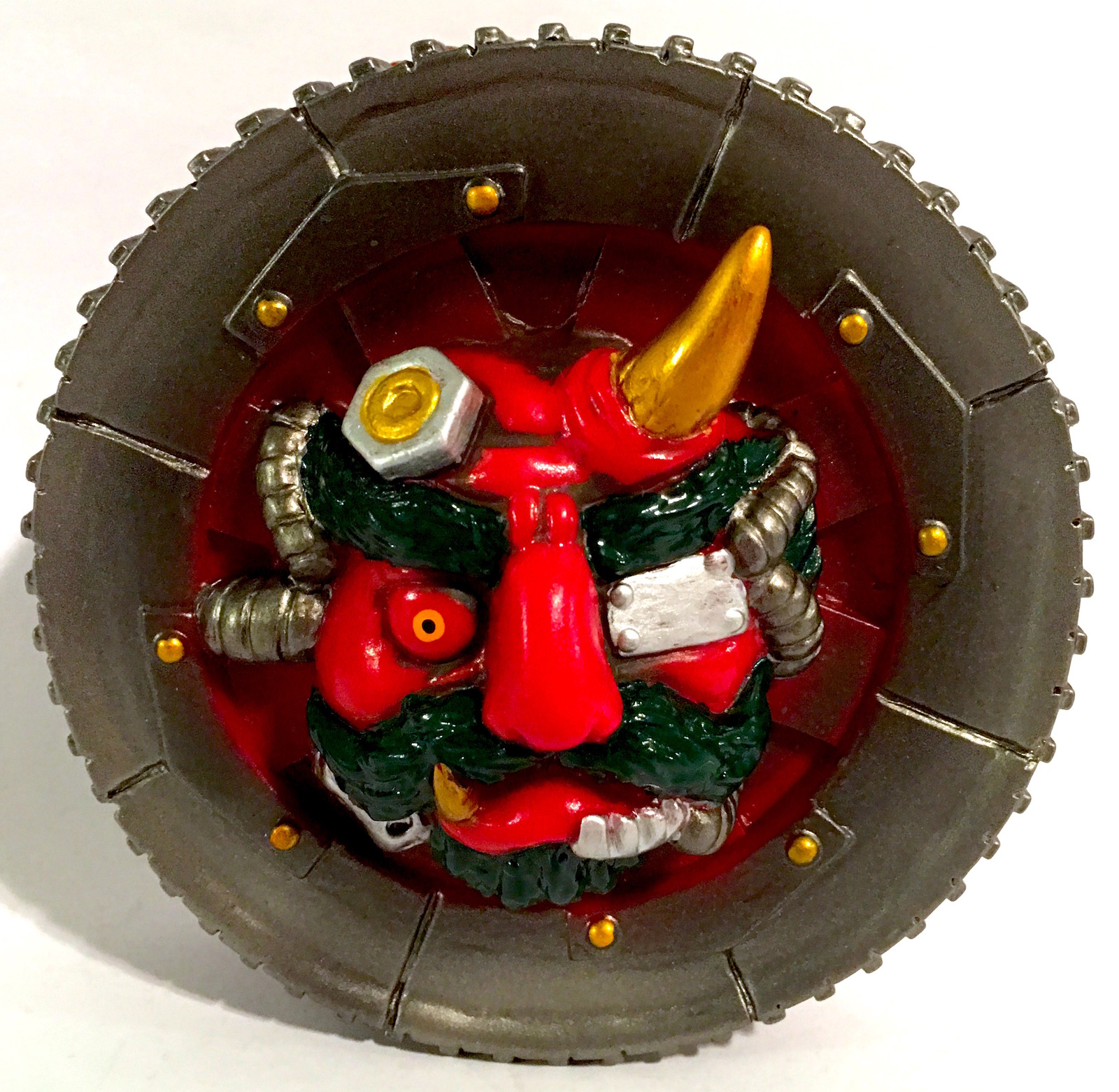 Red Demon Wheel Yokai