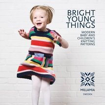 Bright Young Things: Modern Baby & Children's Knitting Patterns (used pa... - $11.00