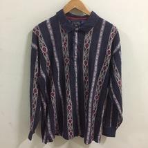 Chaps Ralph Lauren Shirt Size L polo shirt aztec Long sleeve - $35.00