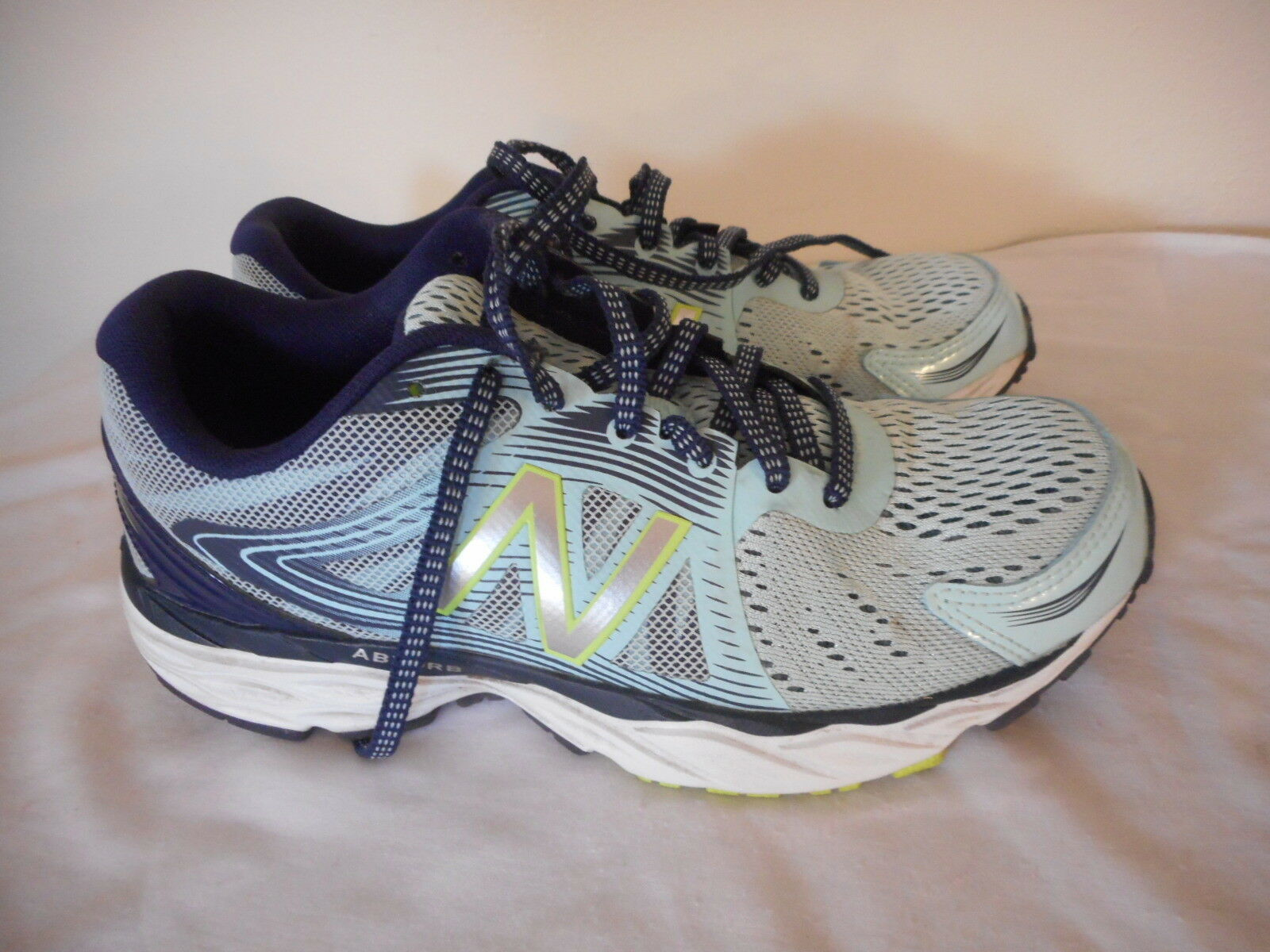 New Balance Esponsef 2.0 Womens Blue Green Athletic Shoes Sneakers Size 7