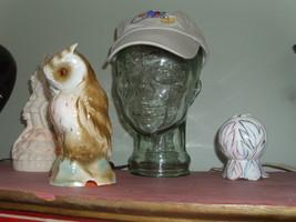 Glass Hat or Glasses display Head - $30.00