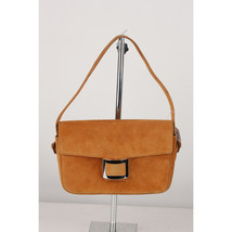 Authentic Hermes Vintage Tan Suede Sac Martine Shoulder Bag - $970.20
