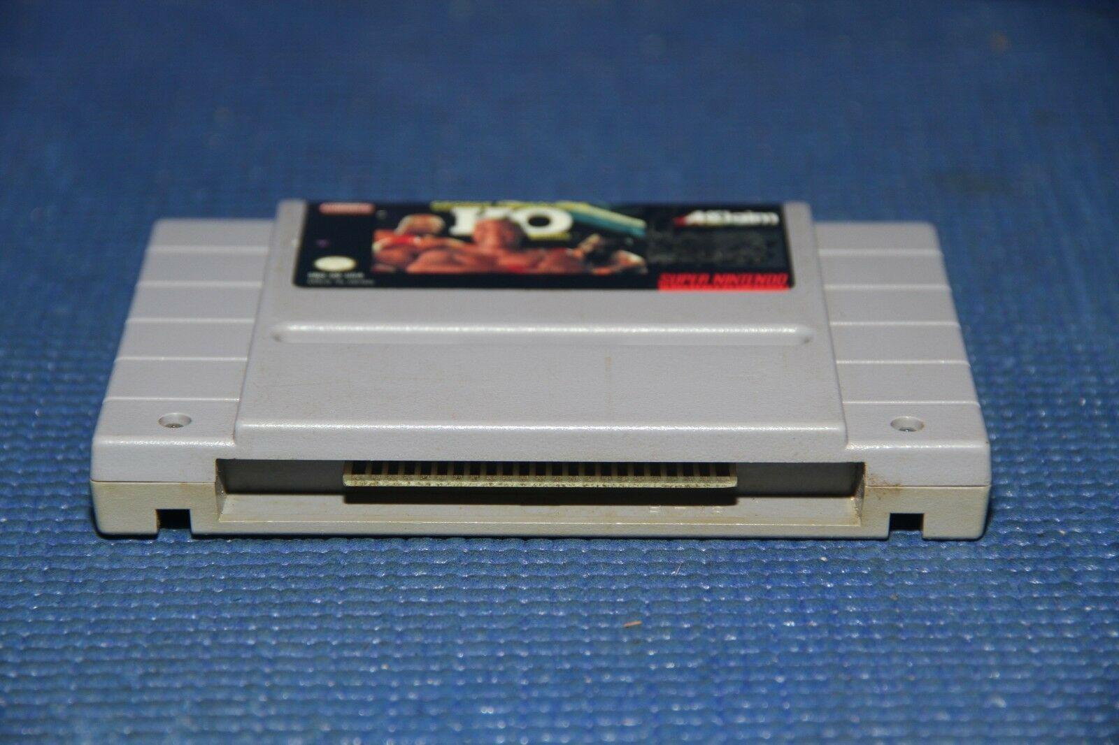 George Foreman's KO Boxing (Super Nintendo Entertainment System, 1993) SNES image 4