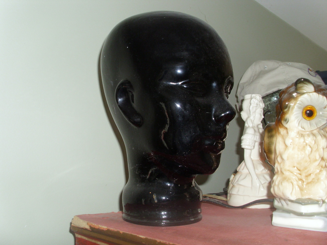 Glass Hat or Glasses display Head