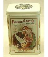 Washburn Crosby Co. Merchant Miller Metal Tin Gold Medal Flour Canister ... - $29.69