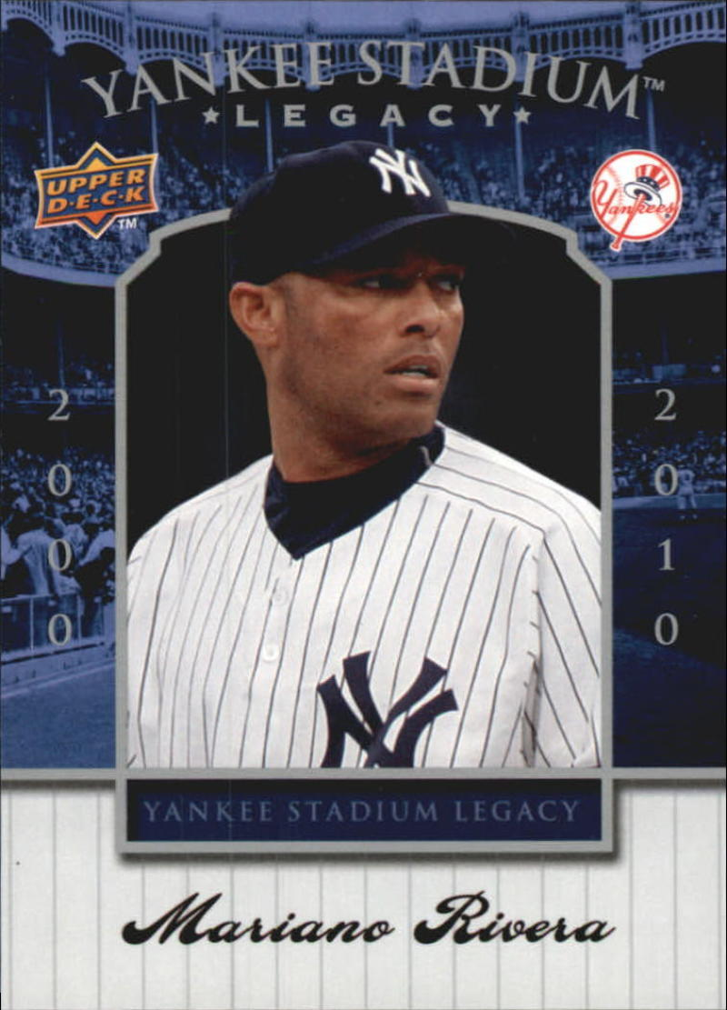 Primary image for 2008 Upper Deck Yankee Stadium Box Set #91 Mariano Rivera Yankees NM-MT
