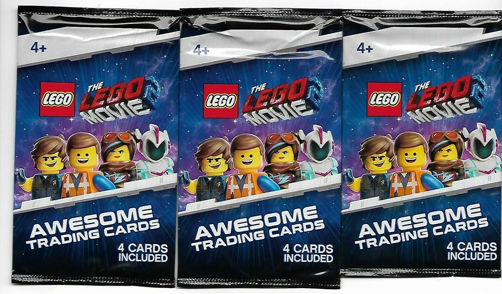 Lego Movie 2 VIP Collector Album Plus 3 Packs New Trading Cards image 2
