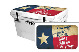 "RTIC Wrap ""Fits Old Mold"" 65qt Cooler 24mil Lid Kit Texas Go To - $36.95"