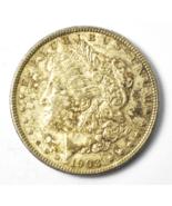 1903 $1 Morgan Silver One Dollar US Philadelphia AU-Unc - $59.39