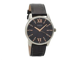 W1307G1 Guess Mens Theo Grey Strap Wristwatch - $87.18