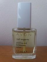 Avon Nail Experts Peeling and Britleness Solver 12 ml New Discontinued  - $6.56