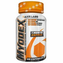 Axis Labs MYODEX Testosterone Booster Estrogen Blocker 60 capsules - $26.45