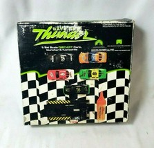 NEW NOS Days of Thunder 1:64 Scale Die Cast Race Cars, Launcher & Fuel B... - $21.03