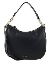 NEW KATE SPADE (WKRU4138) VIVIAN MULBERRY STREET LEATHER HOBO SHOULDER BAG - $191.70 CAD