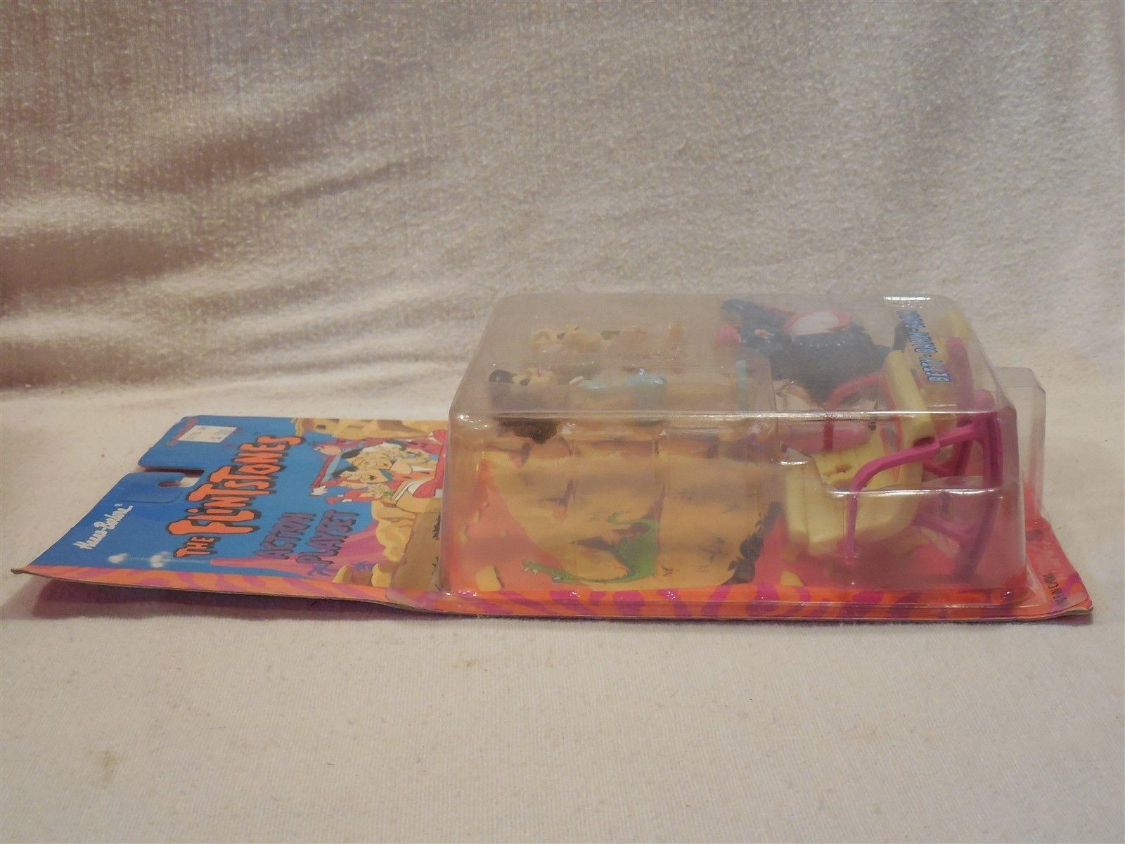 Flintstones 1993 Boley Action Playset - Betty & Bamm-Bamm Rubble MIP #1