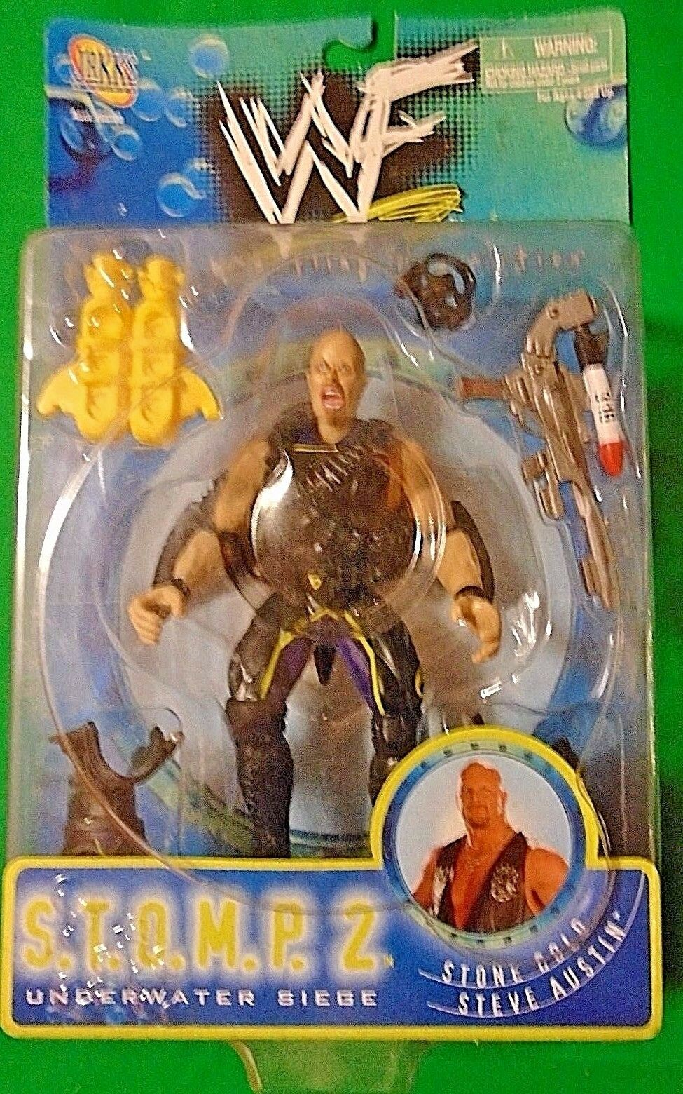 Stone Cold Steve Austin WWF S.T.O.M.P.  Action Figure Series 2 WWE