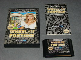 Sega Genesis: Wheel Of Fortune [w/ Box & Manual] Nr Mint! Collectors Grade! - $15.00