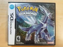 Pokemon: Diamond Version / Nintendo DS 2007 Authentic Pokémon NO Poster/... - $39.59