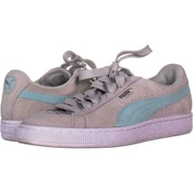 Puma Classic Low Lace-up Sneakers 536, Gray-Island, 6.5 US / 39 EU - $14.39