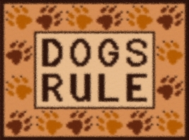 Latch Hook Rug Pattern Chart: Dogs Rule - EMAIL2u - $5.75
