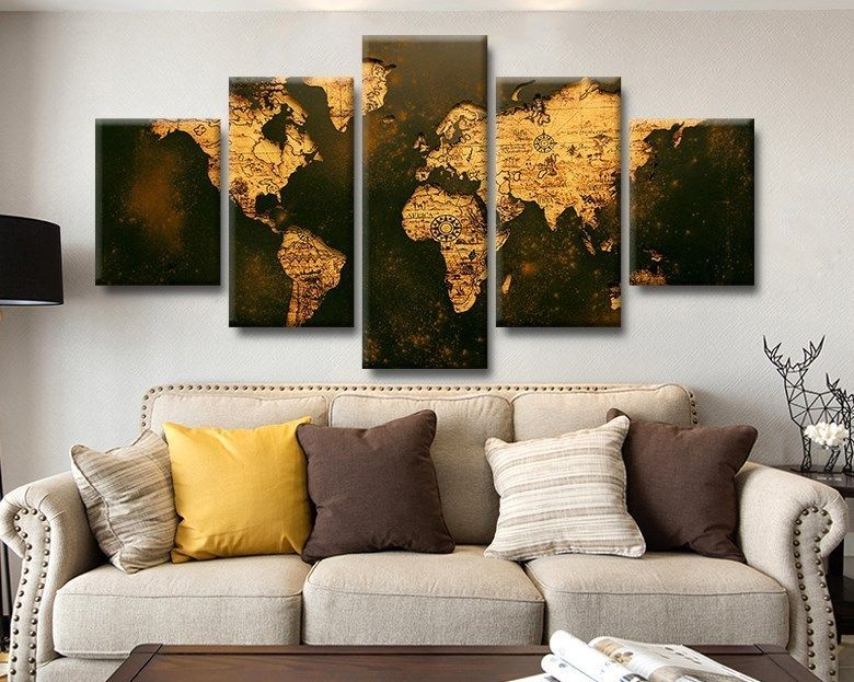 Large framed world map rustic old look and 50 similar items 57 gumiabroncs Gallery