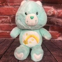 "2002 Care Bears WISH Bear 20th Anniversary Carlton Cards 16"" Plush Toy Bear - $14.99"