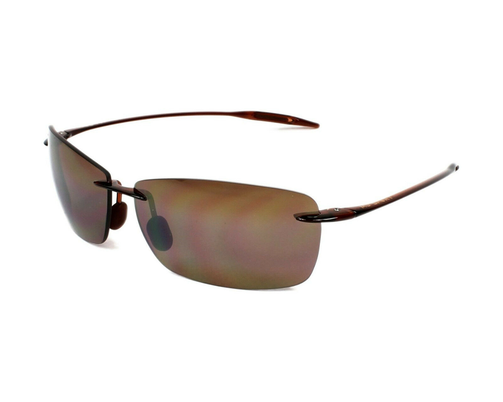 Maui Jim H423-26 lighthouse rootbeer frame hcl bronze polarized lens new